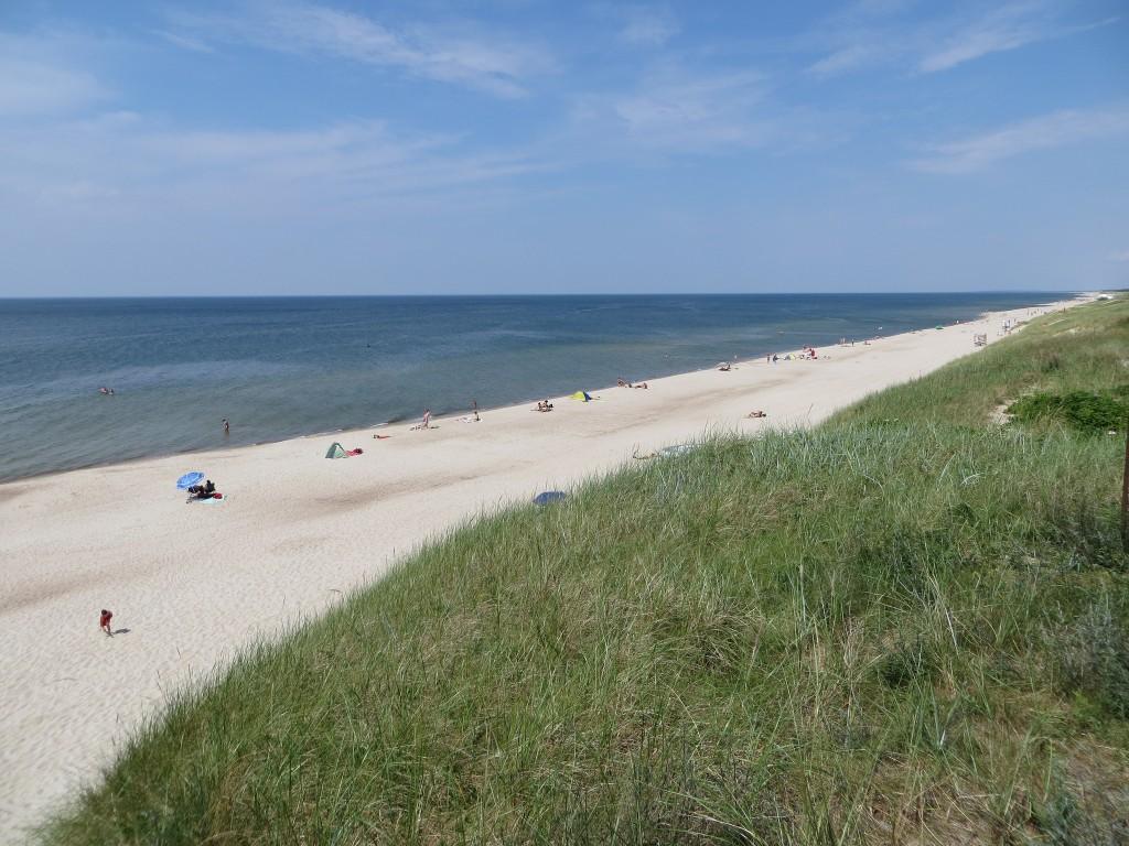 Фото пляжа на Куршской косе