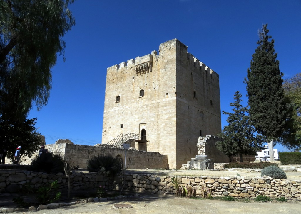 Фото замка Колосси в Лимасоле