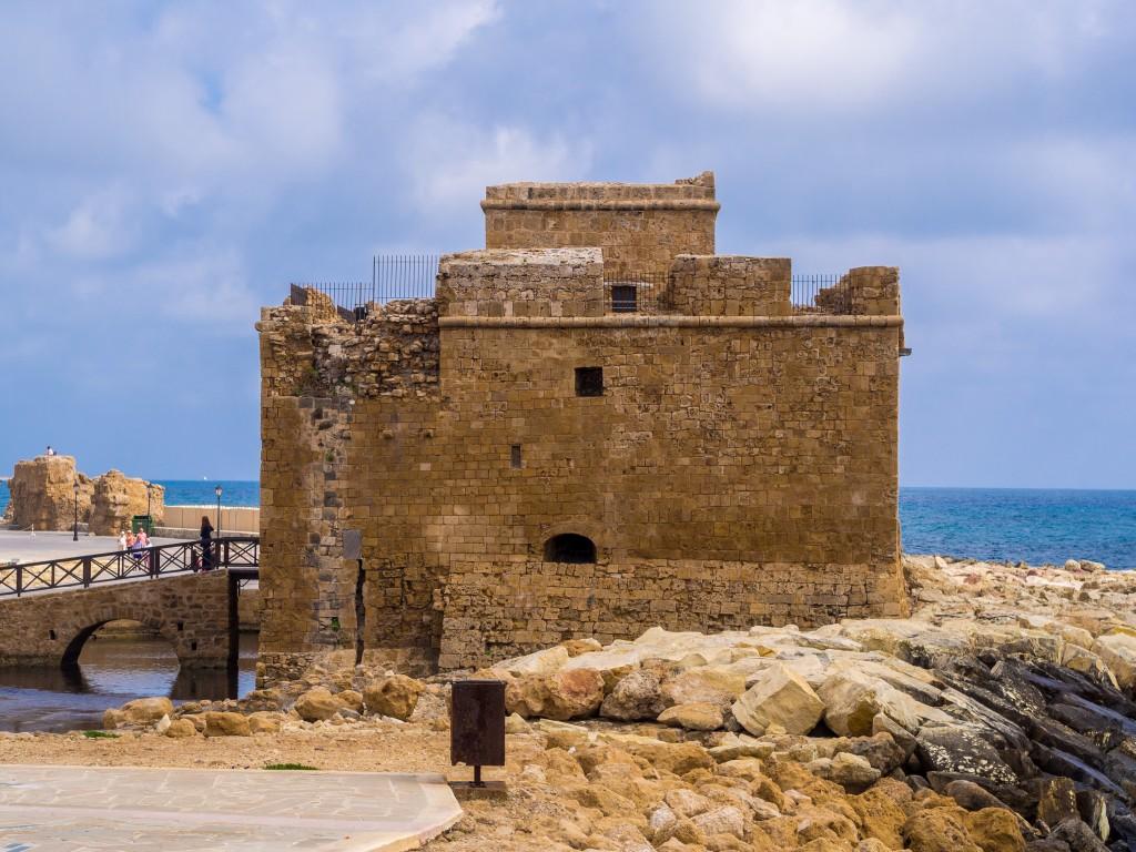 Фото крепости города Пафос