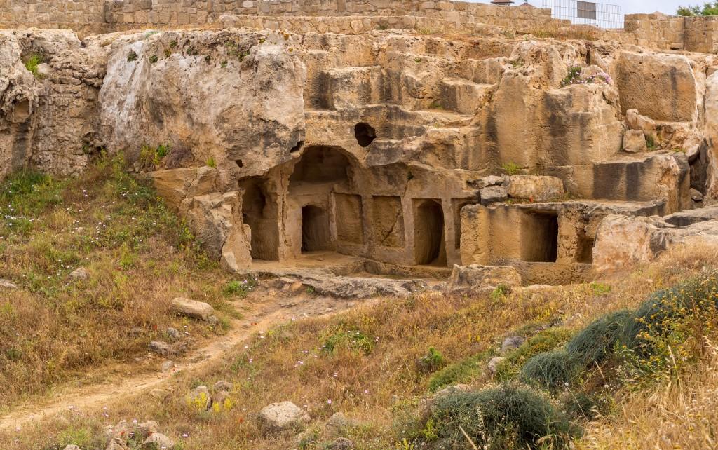 Фото Царских гробниц в Пафосе