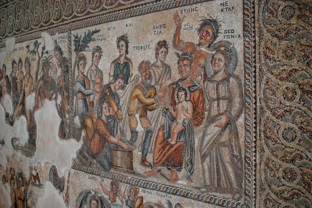 Фото мозаики в доме Эона