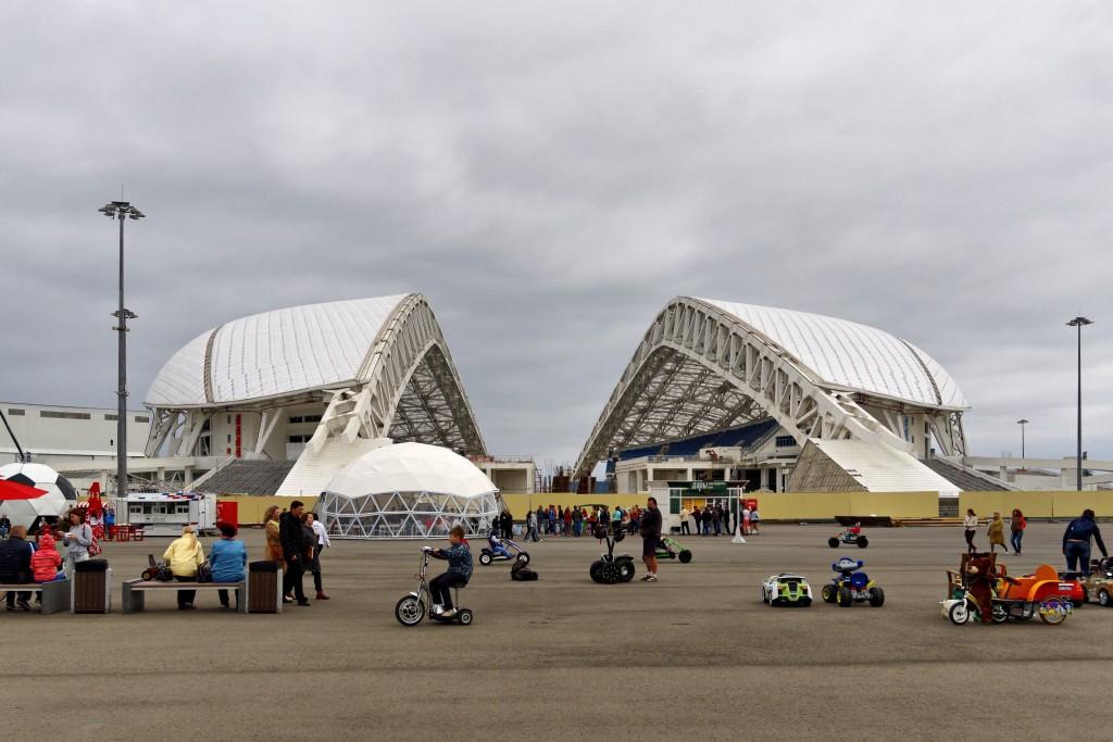 Фото олимпийского стадиона Фишт.