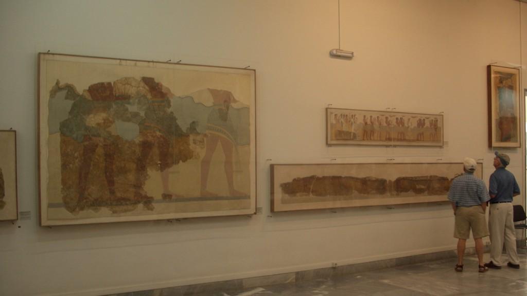 Фото их Археологического музея Ираклиона