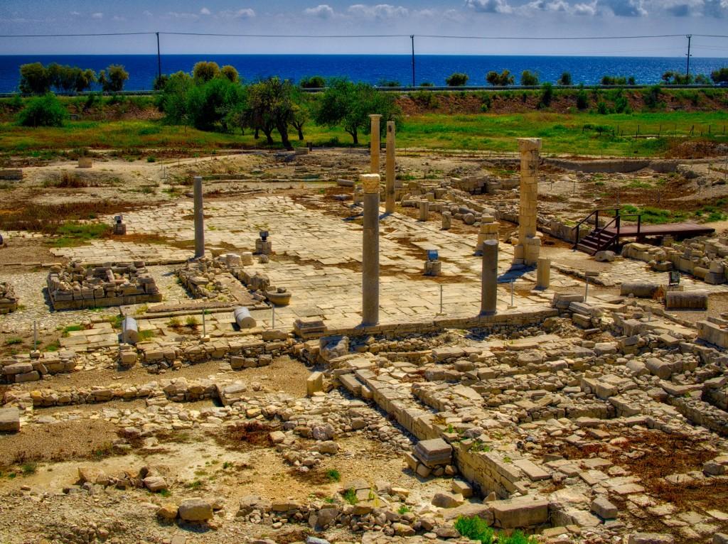Фото руин древнего города Аматус