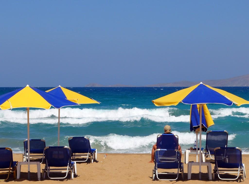 Фото пляжа в Ираклионе