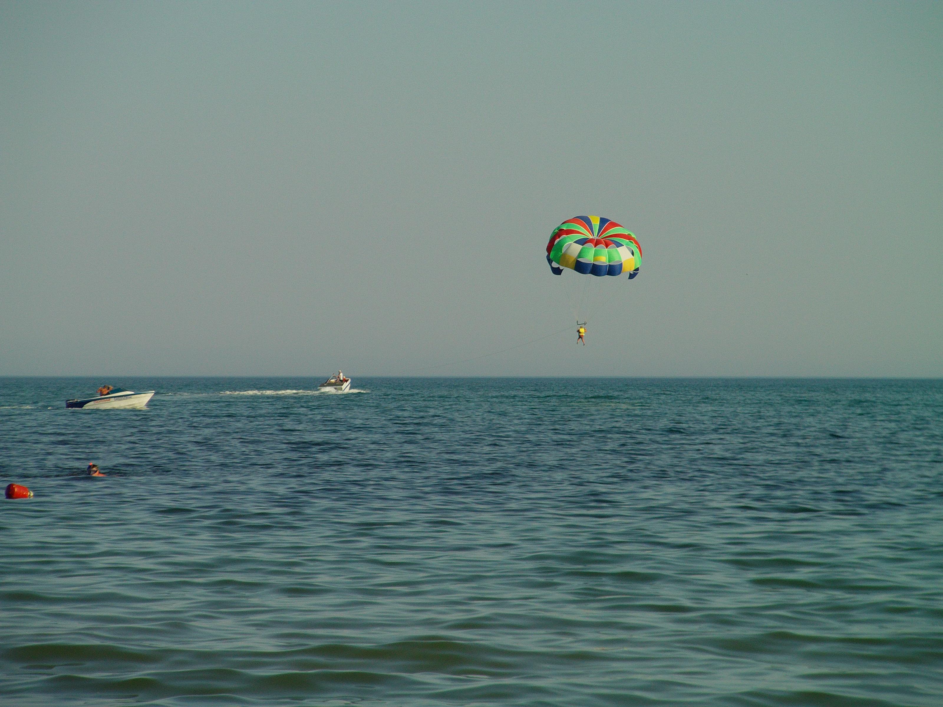 Фото моря у берегов Евпатории.