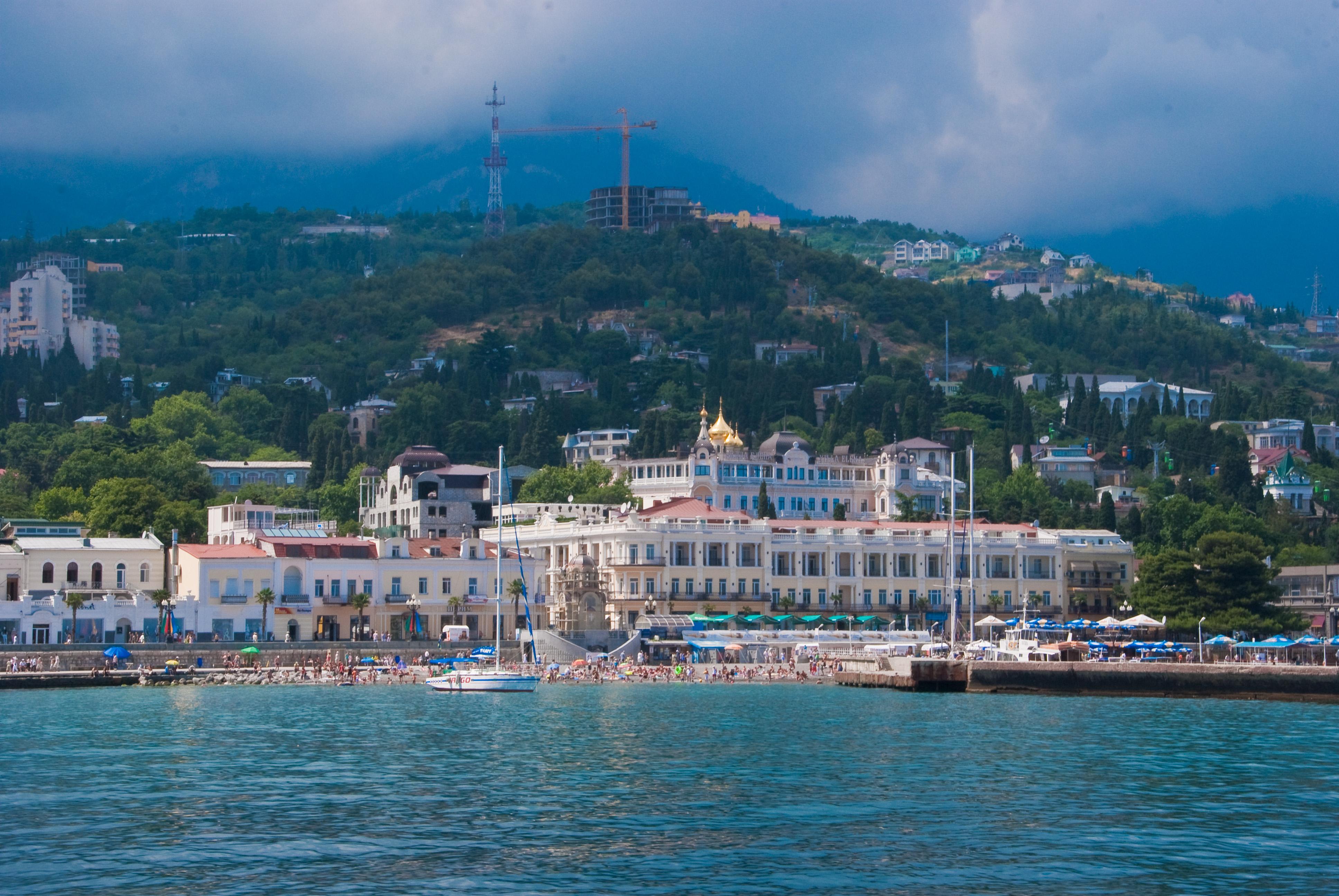 Город-курорт Ялта.