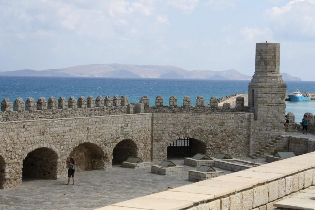 Фото форта Кулес (Венецианской крепости)