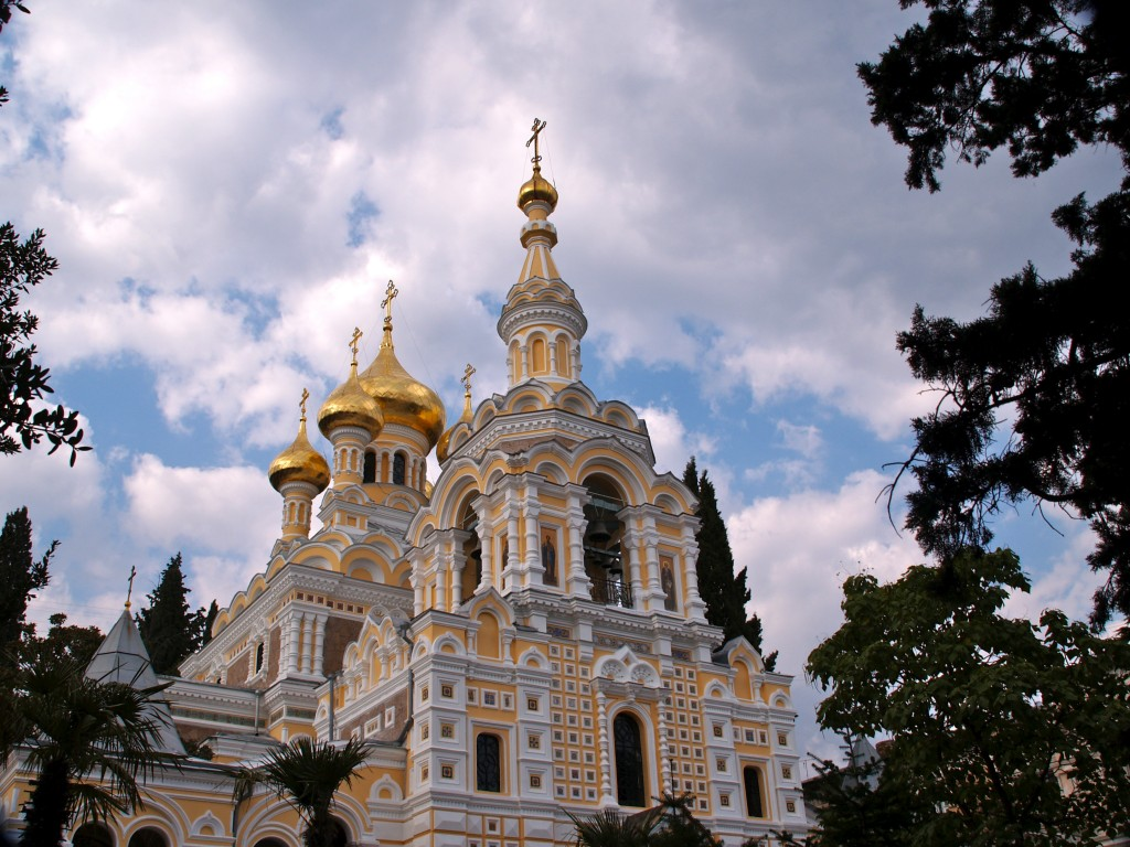 Фото собора Александра Невского. Автор: Dave Proffer
