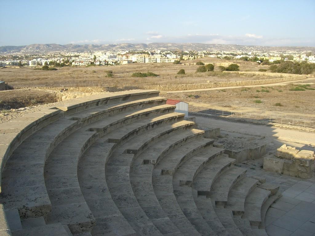 Фото амфитеатра Одеон в Пафосе