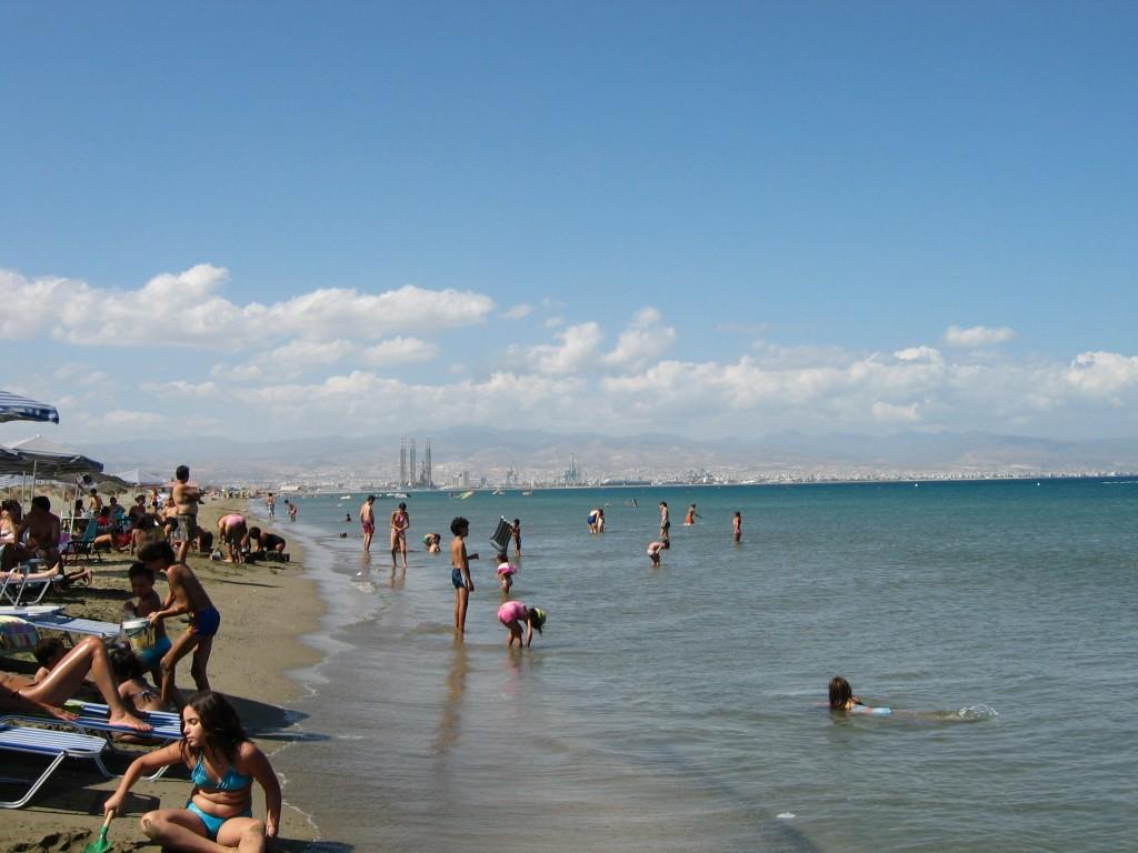 Фото пляжа Lady's Mile в Лимасоле.