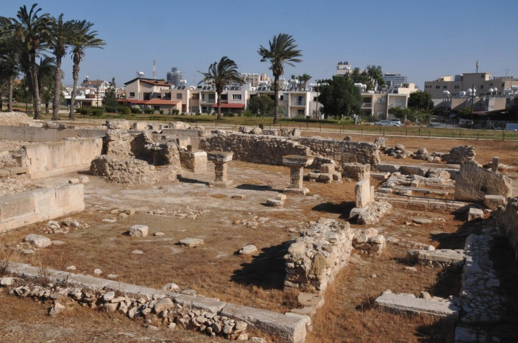 Фото руин города Китион