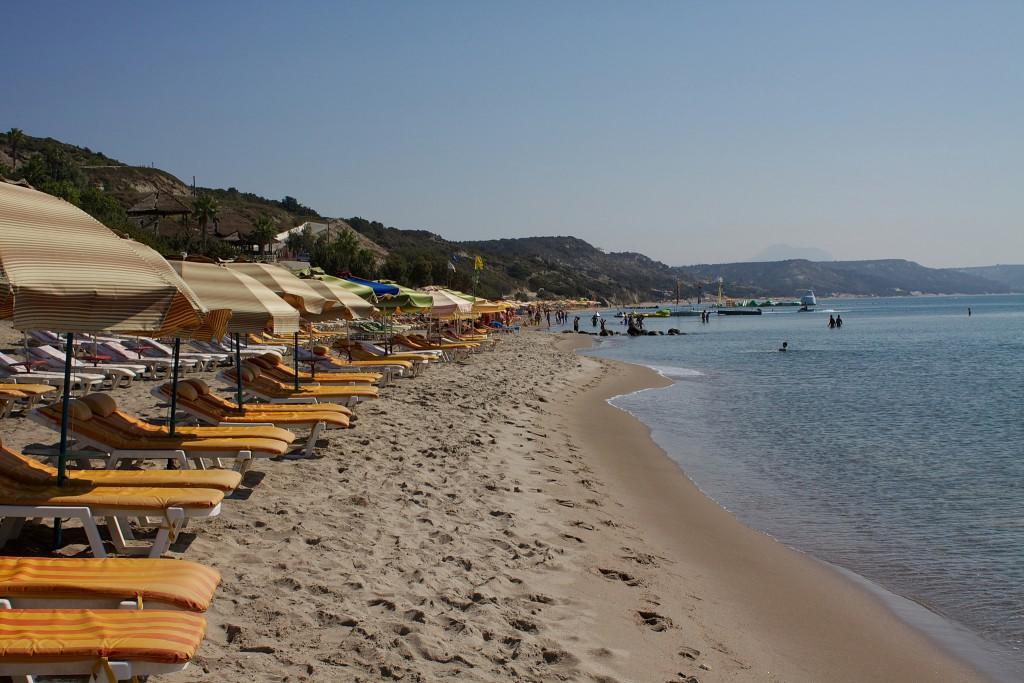 Фото пляжа острова Кос