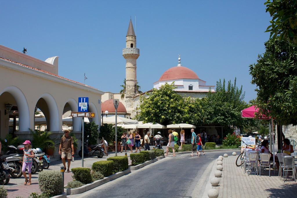 Фото мечети Дефтердар на острове Кос