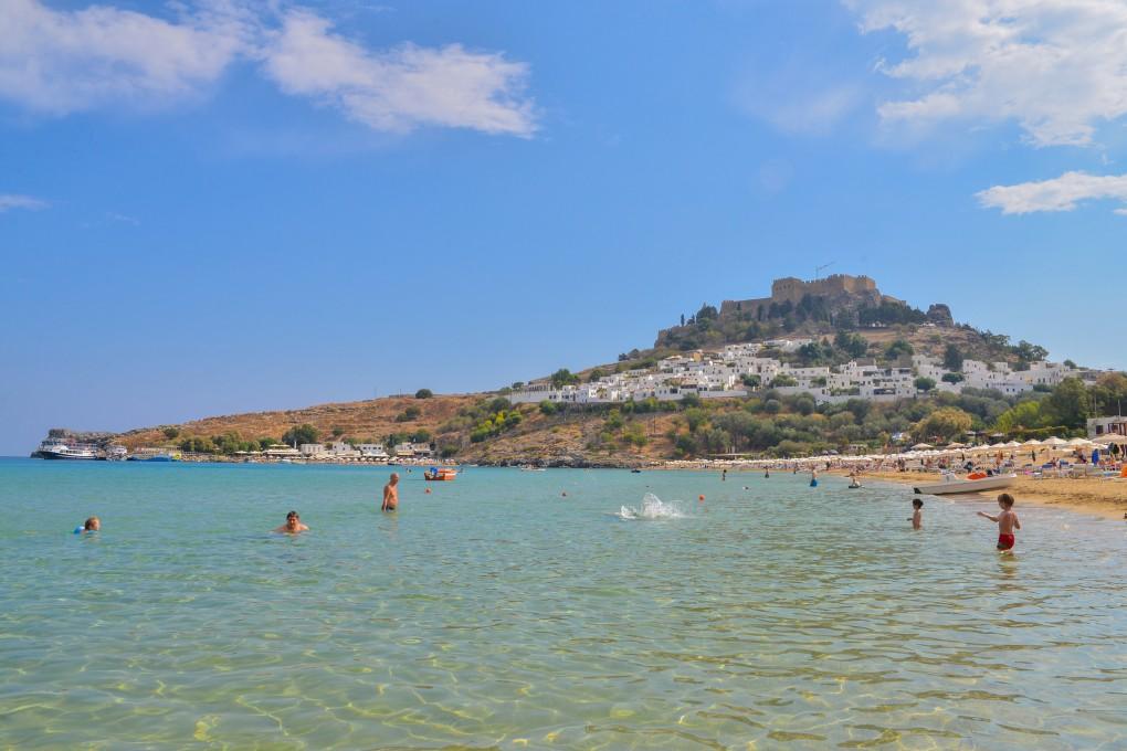 Фото острова Родос, Греция.