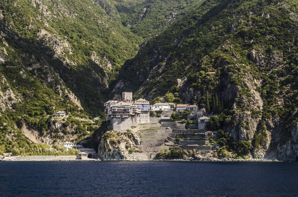 Фото христианских монастырей в Афоне