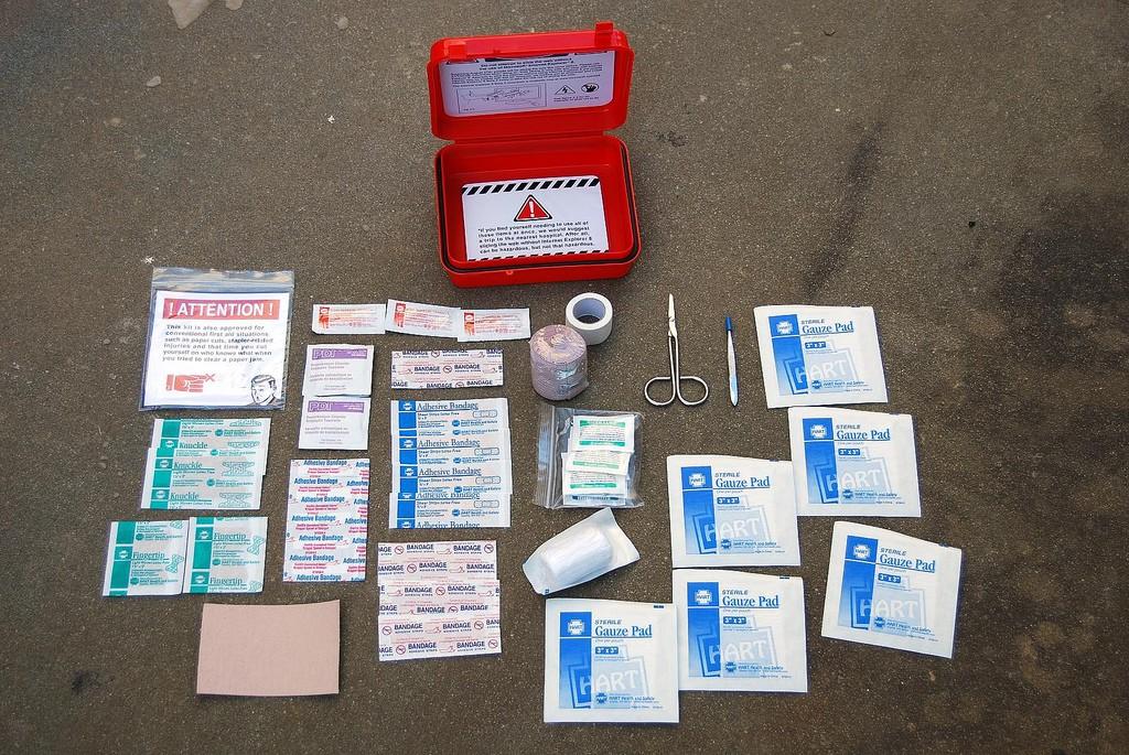 Фото аптечки для поездки