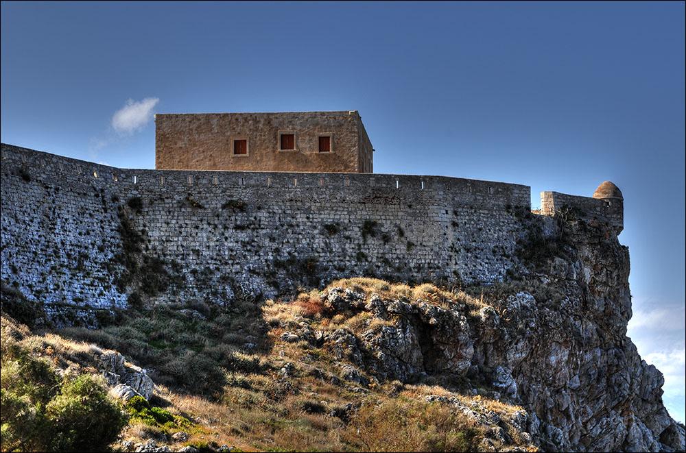 Фото крепости Фортецца в Ретимно.