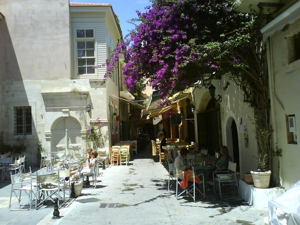 Фото улиц старого города в Ретимно