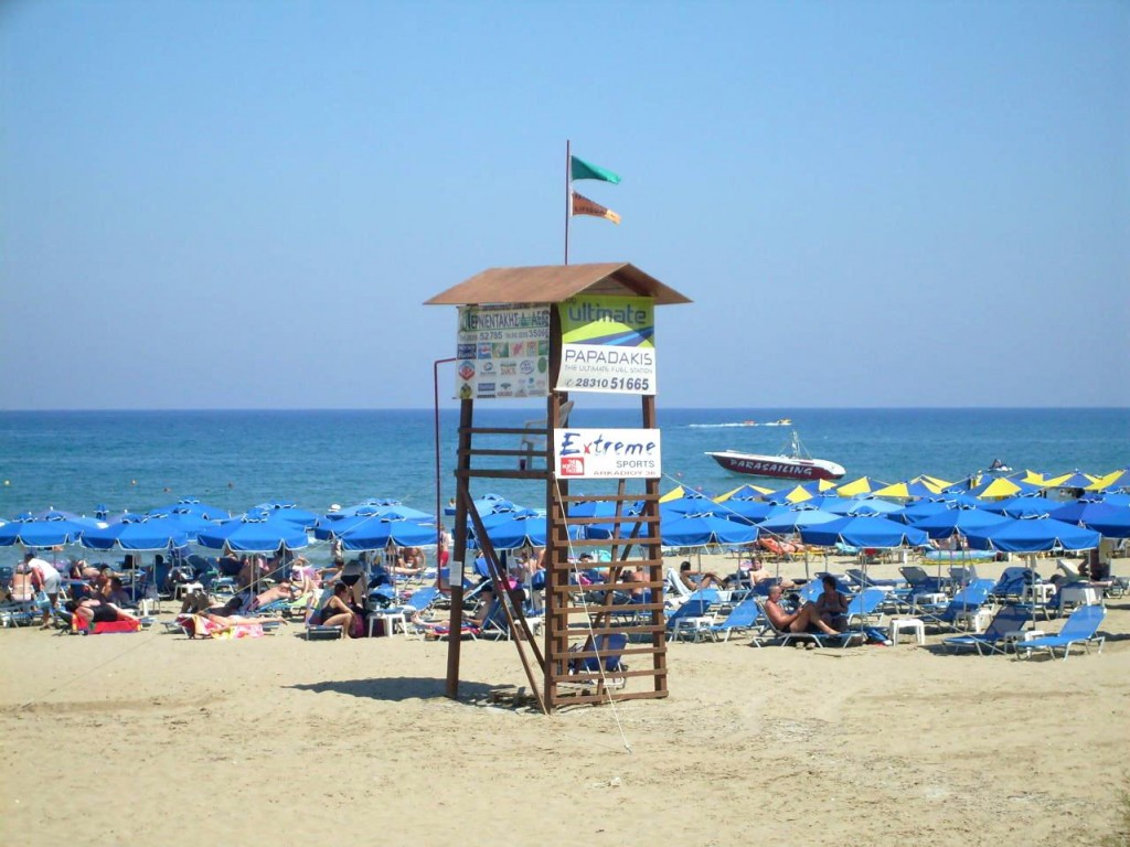 Фото пляжа в Ретимно