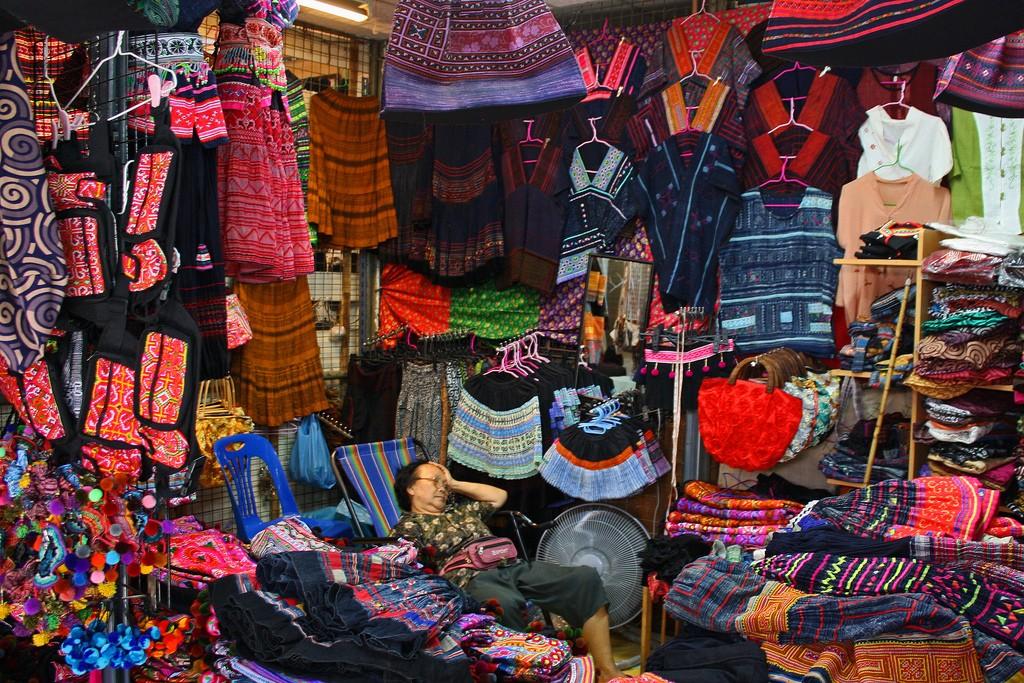 Фото рынка Чатучак в Бангкоке