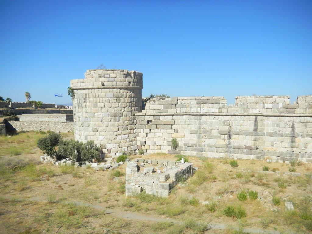 Фото замка рыцарей иоаннитов на острове Кос
