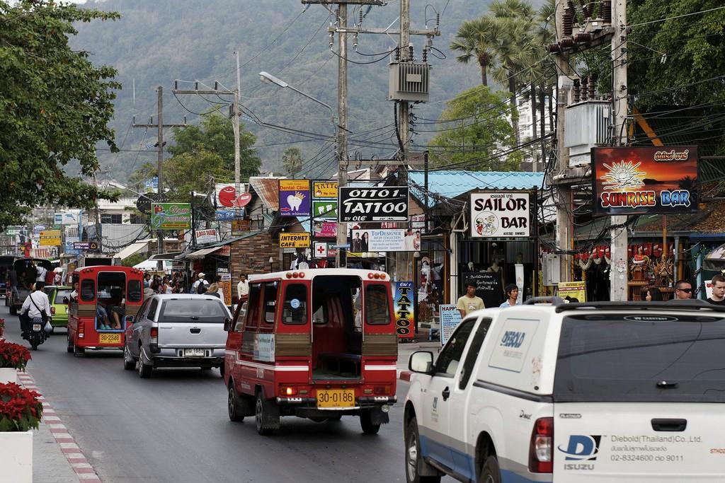 Фото района Патонг на Пхукете
