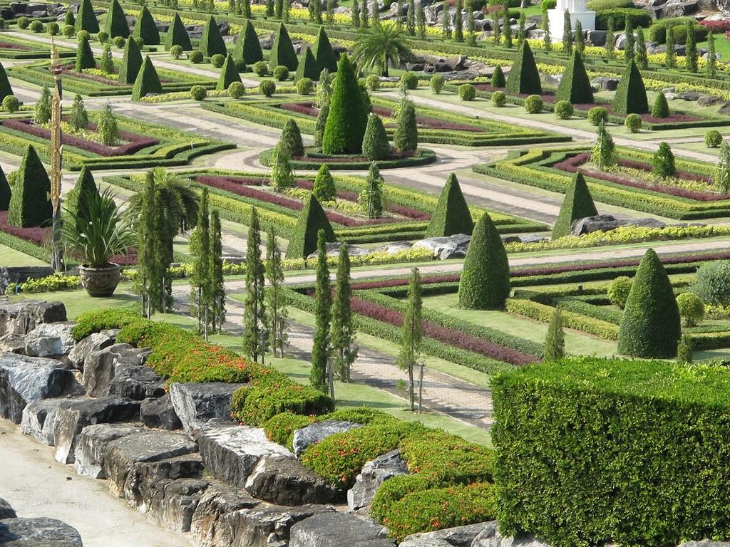 Фото тропического сада Нонг Нуч в Паттайе