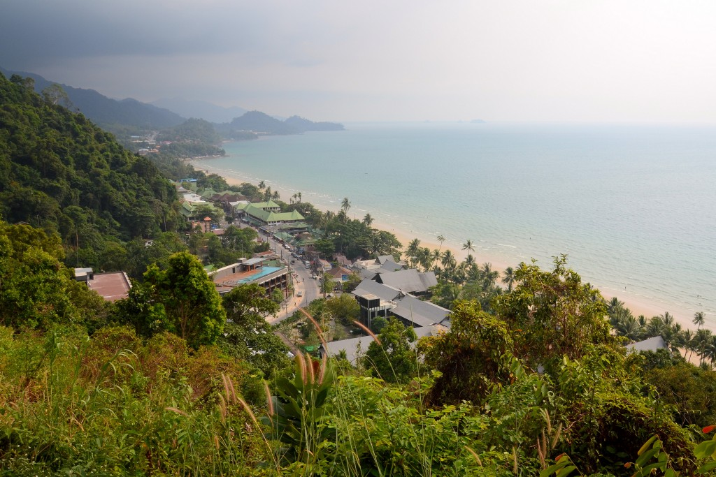 Фото западного берега Ко Чанга, пляж Уайт-Сэнд-Бич