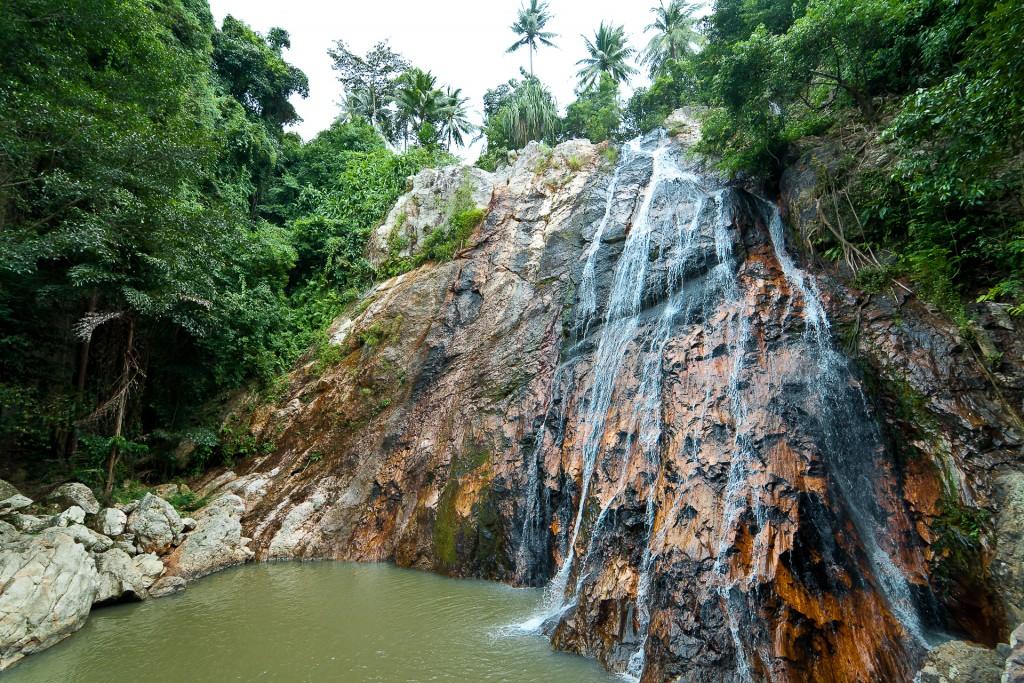 Фото водопада Намуанг на Самуи
