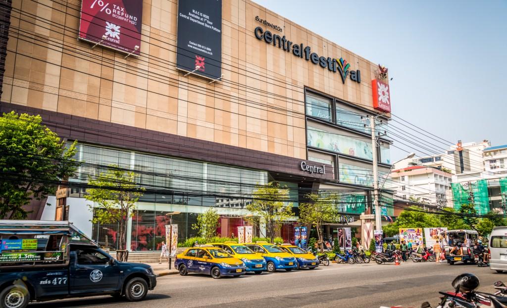 Фото центральной части города Паттайя
