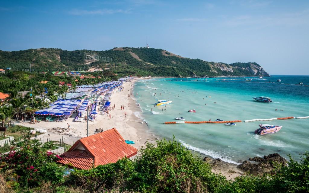 Фото пляжа на острове Ко Лан