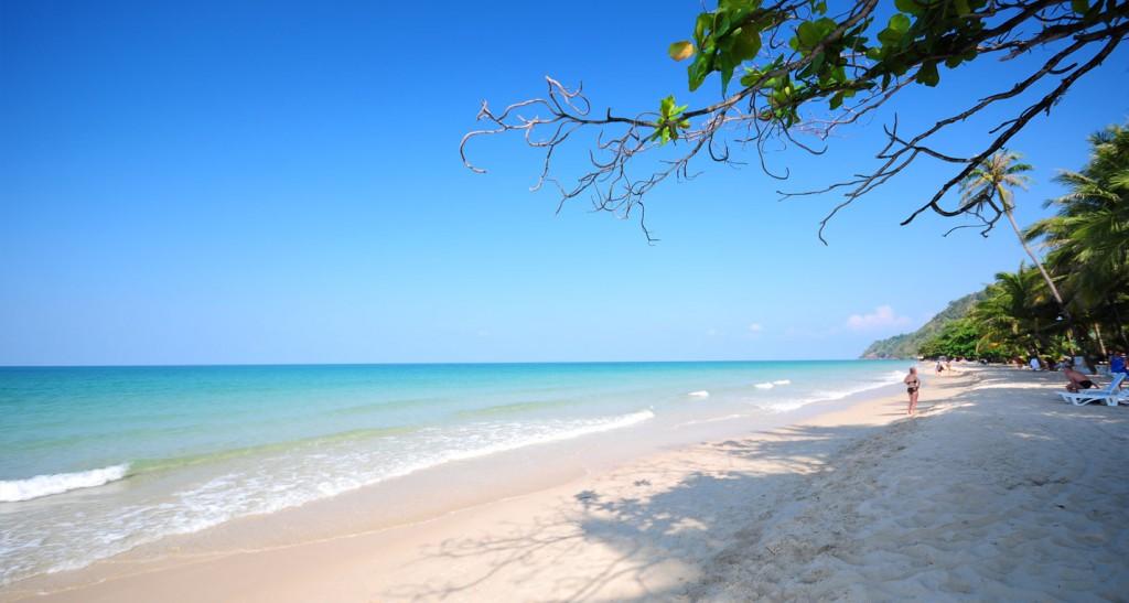 Фото пляжа Уайт-Сэнд-Бич на острове Ко Чанг
