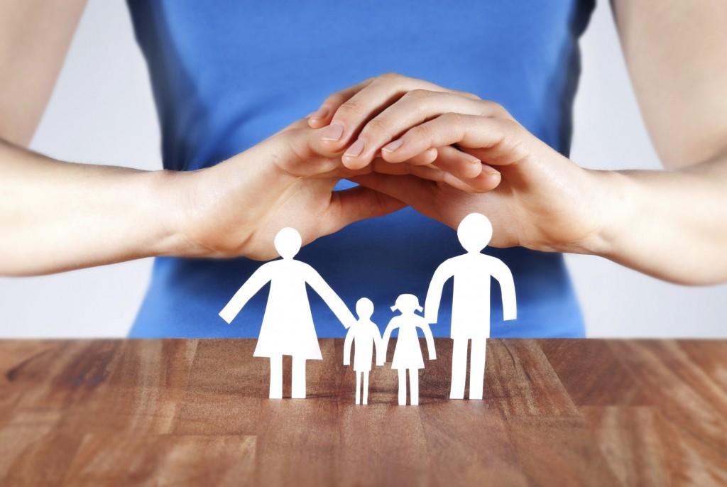 Фото страхования всей семьи
