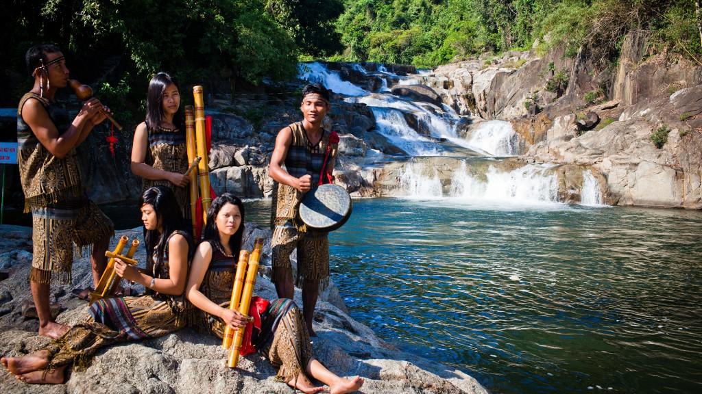 Фото водопада Янг Бей