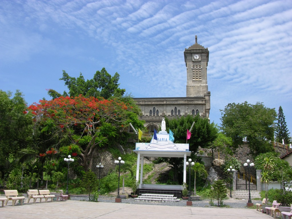 Фото кафедрального собора Нячанга
