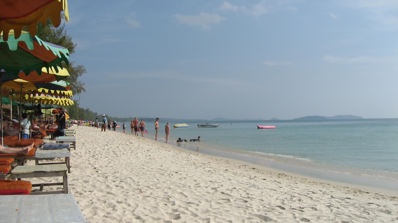 Фото пляжа Отрес в Сиануквиле