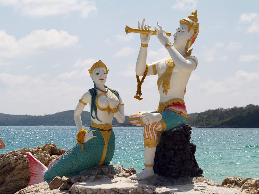 Фото Русалочки на пляже Ао Хин Кок.