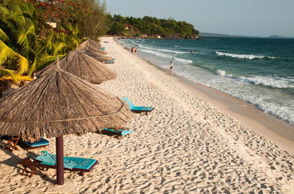 Фото пляжа Сокха в Сиануквиле