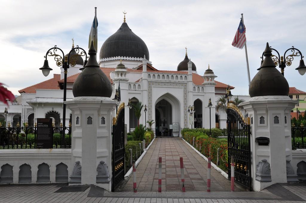 Фото мечети Келинг на Пенанге.