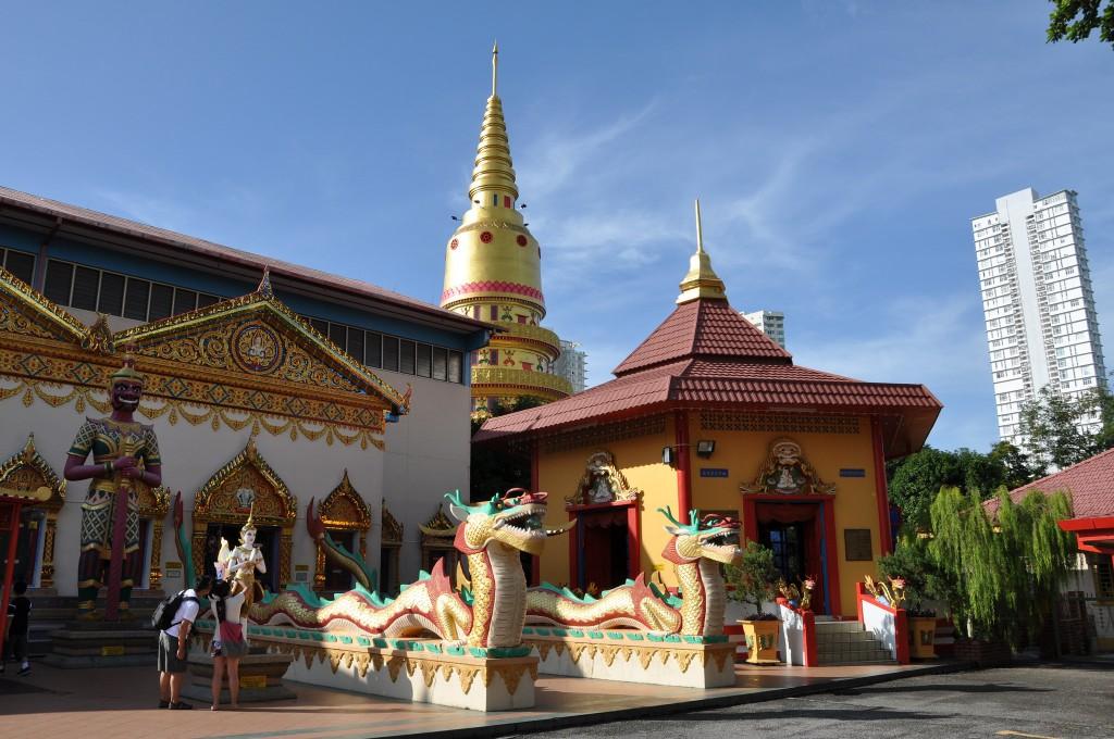 Фото храма Chayamangkalaram на Пенанге