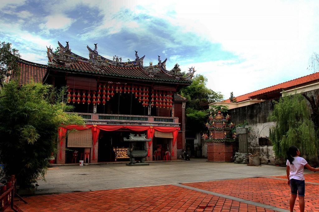 Фото китайского храма на Пенанге