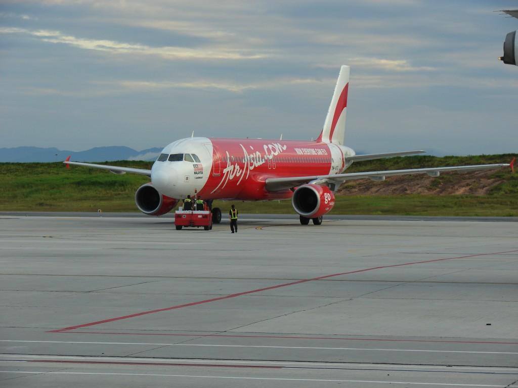 Фото самолета авиакомпании AirAsia