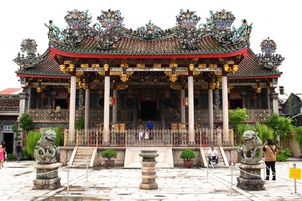 Фото кланового дома Ху Конгси на Пенанге